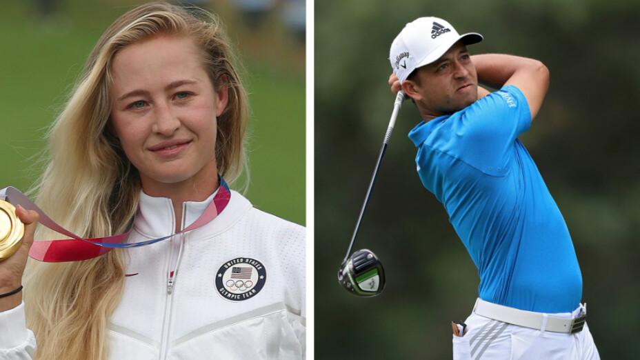 Nelly Korda y Xander Schauffele Golf Tokyo 2020.jpeg