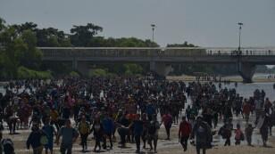 Cierre de puente fronterizo en Chiapas