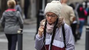 Frío en la Capital