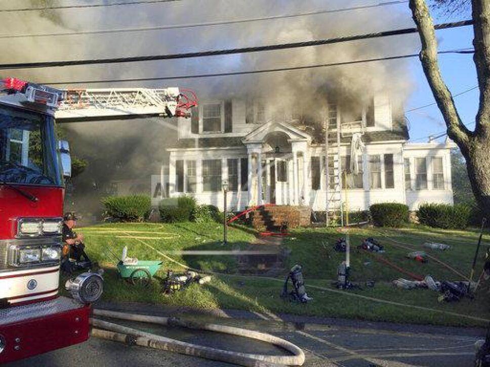 Explosión en vecindarios de Massachusetts