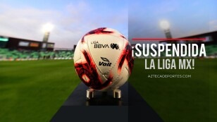 Suspenden Liga MX