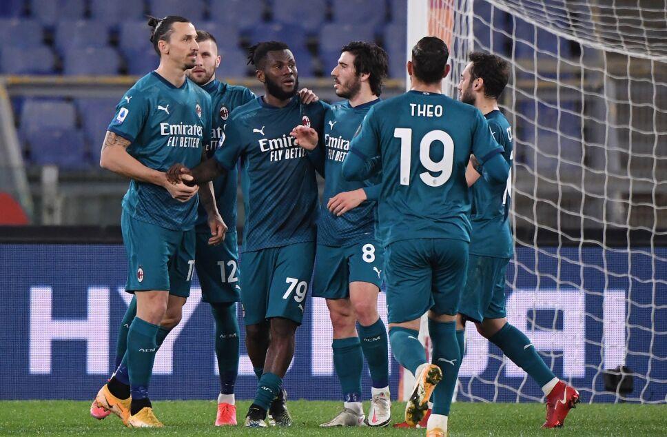 AC Milan derrota a la Roma
