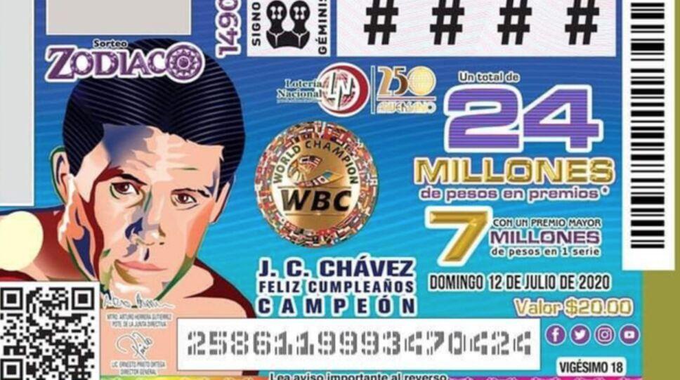 Billete Julio César Chávez