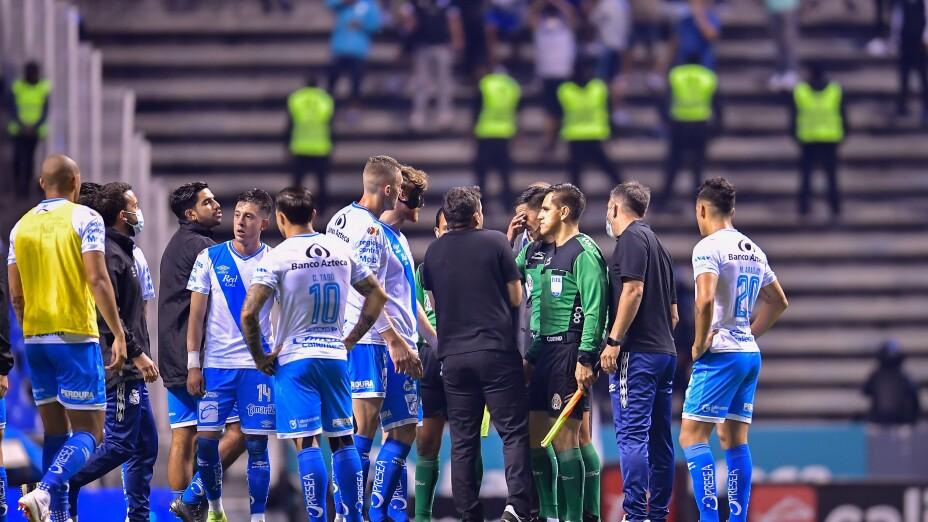 Liga BBVA MX Apertura Grita Mexico 2021 Puebla vs Pachuca