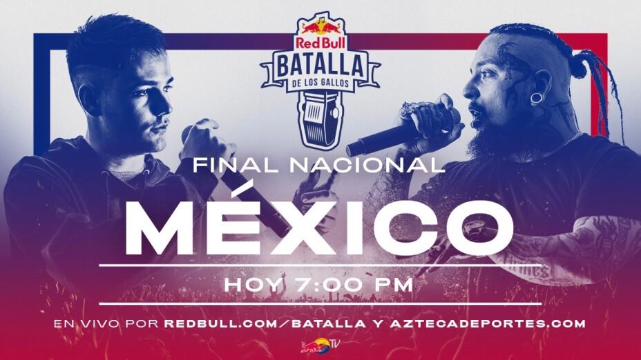 Final Nacional Batalla de los Gallos Red Bull México 2020 EN VIVO, fecha y horarios