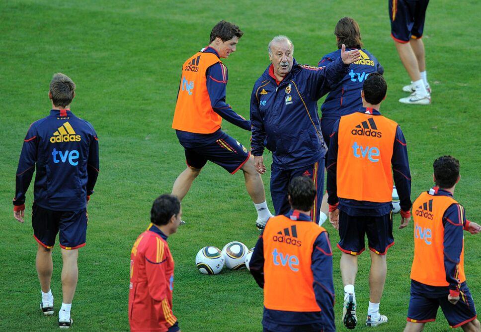 Vicente del Bosque ganó Champions League y un Mundial