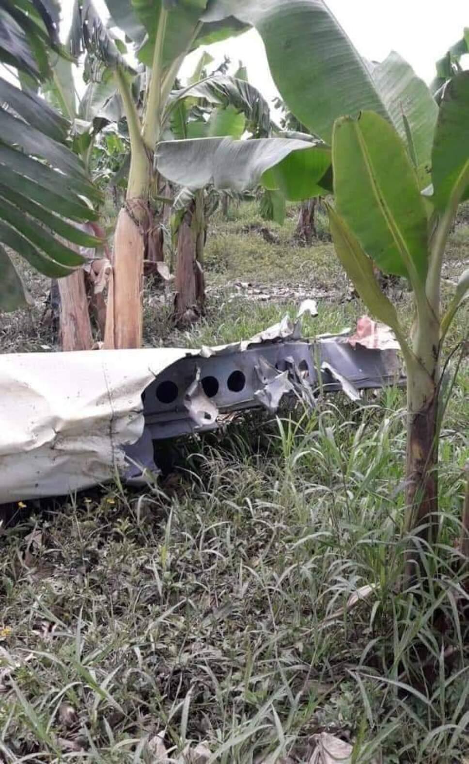 Un muerto tras desplomarse avioneta en Pichucalco, Chiapas