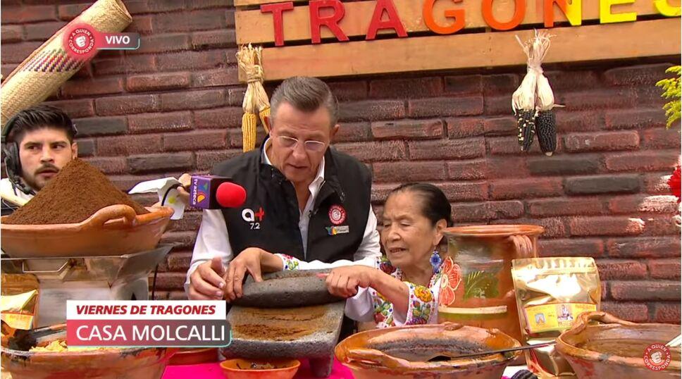 """Herlinda de """"Molcalli"""" y Jorge Garralda en el #ViernesDeTragones."""