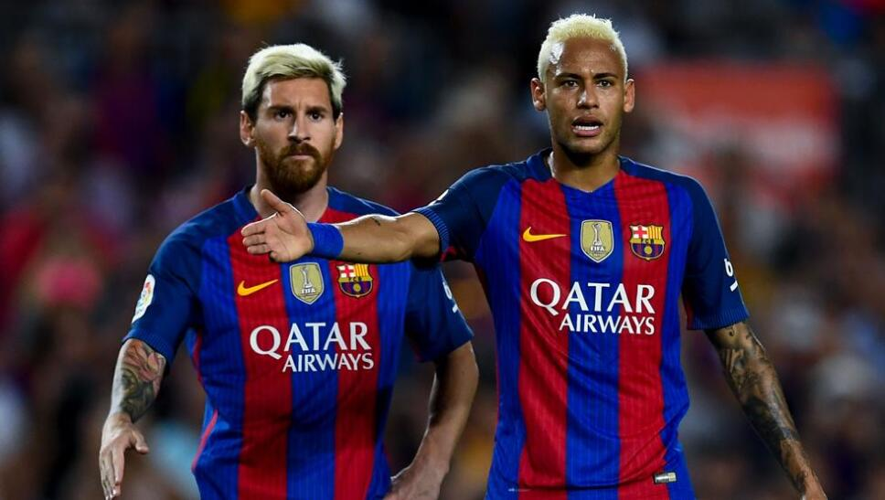 Neymar y Messi juntos de nuevo ahora en el Barcelona