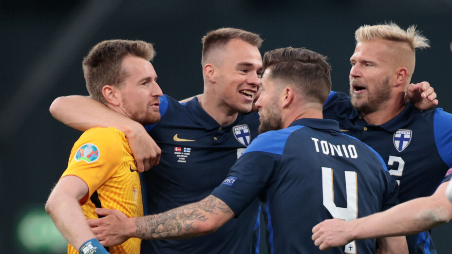 Dinamarca vs Finlandia, Euro 2020