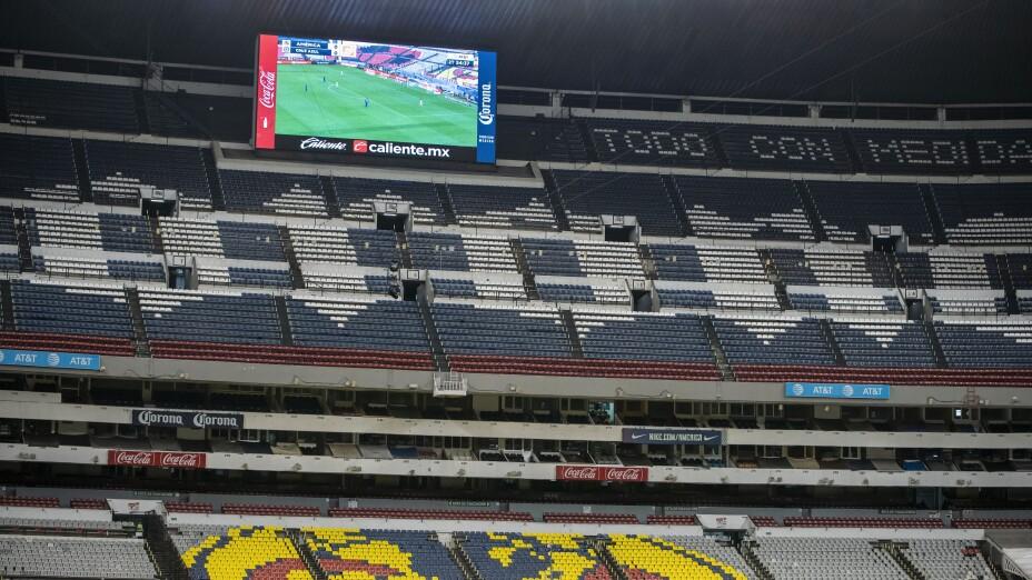 Liga MX sin público