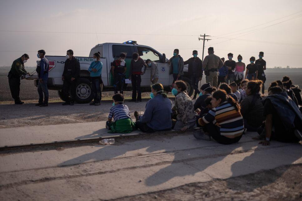 Crisis migratoria en la frontera sur de EU