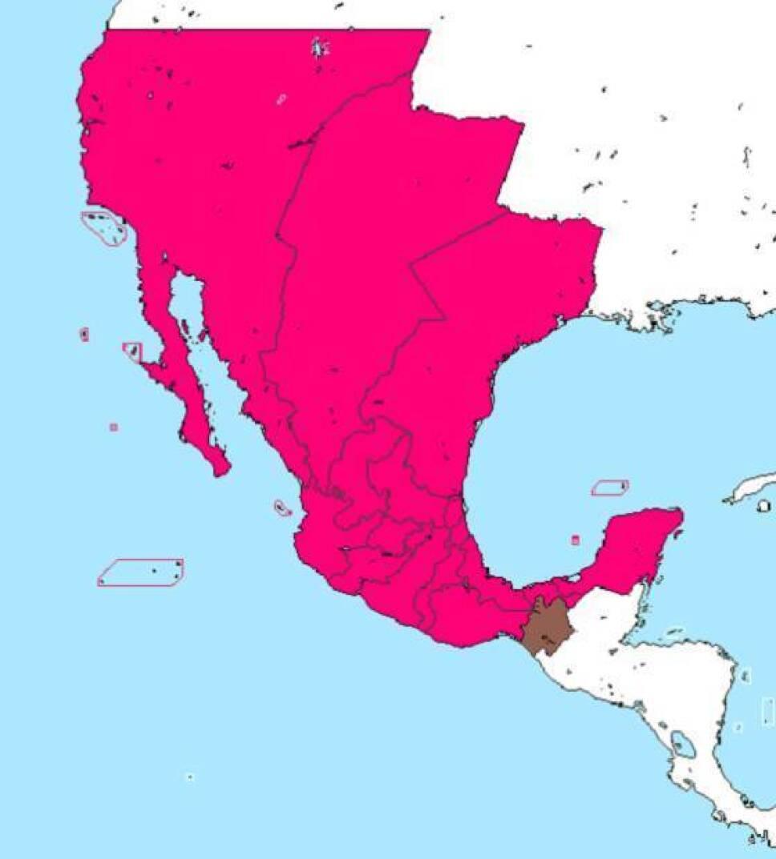 mapa mexico chiapas independiente
