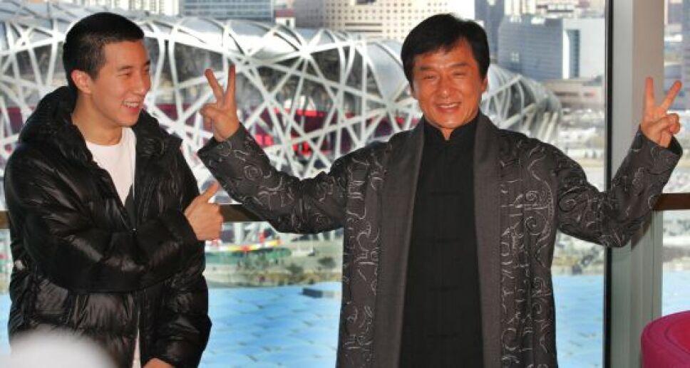 Jackie Chan y su hijo Jaycee Foto Especial