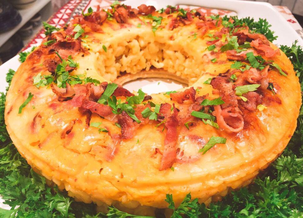 Corona de macarrones, Cocineros Mexicanos