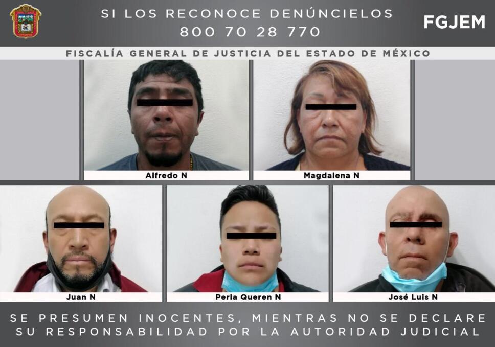 Cinco detenidos por mantener a joven secuestrado.jpg