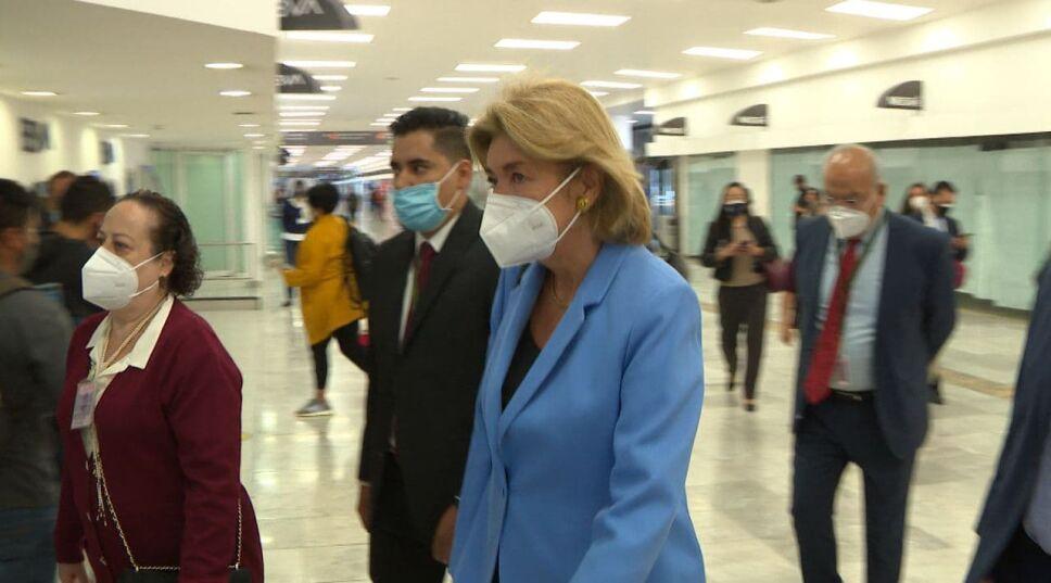 Patricia Cárdenas, embajadora de Colombia en México