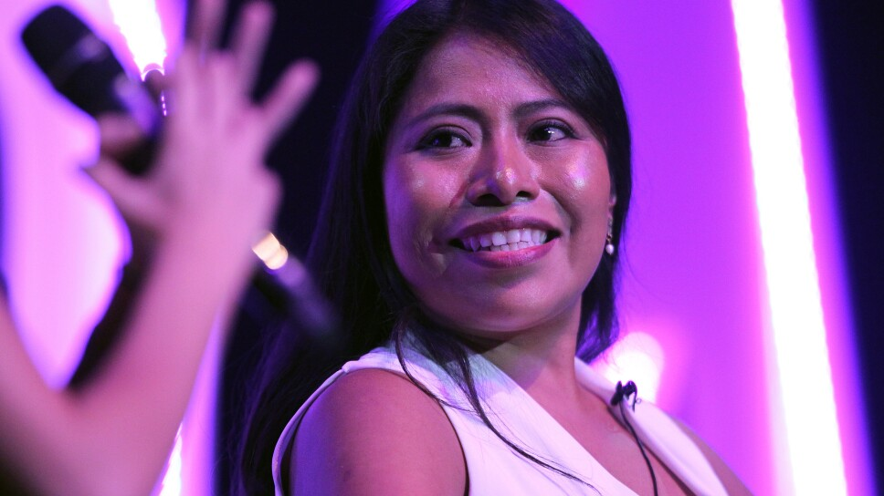 Yalitza Aparicio Press Conference