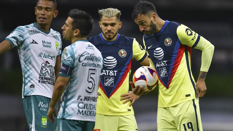 Liga BBVA MX Clausura GUARD1ANES 2021 America vs Leon