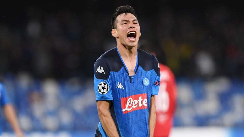 ¡Chucky Lozano anota en Champions League en empate del Napoli!