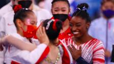 Simone Biles viga de equilibrio Tokio 2020