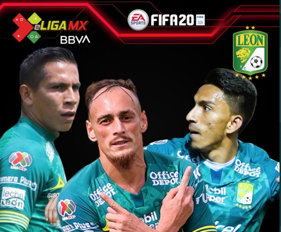 Los representantes de León en la e Liga MX