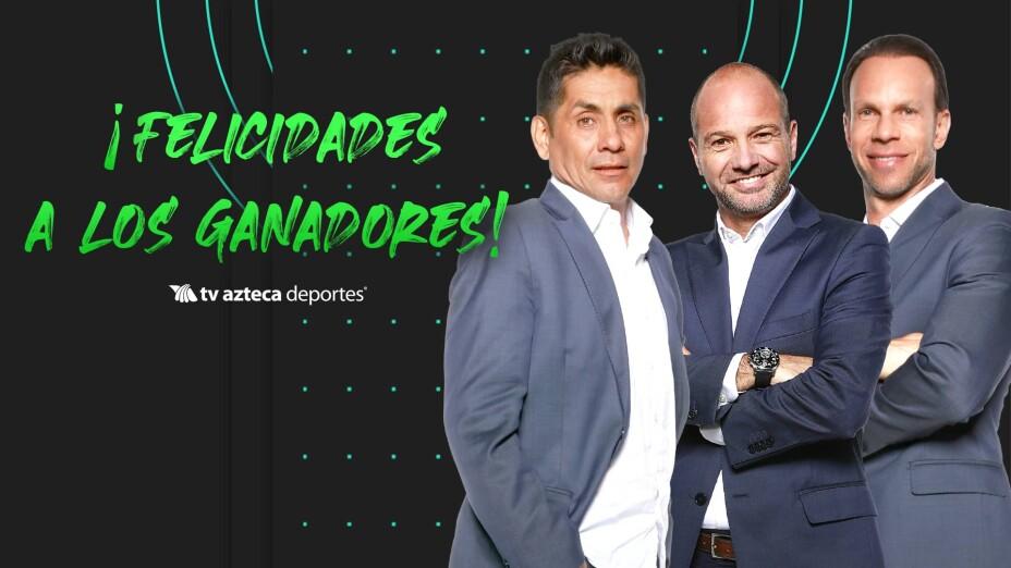 ¡Felicidades a los ganadores de las playeras firmadas por el Team Azteca y la pantalla de 40''!