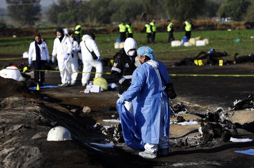 Fallecen tres pacientes en el IMSS a causa de la explosión del gasoducto
