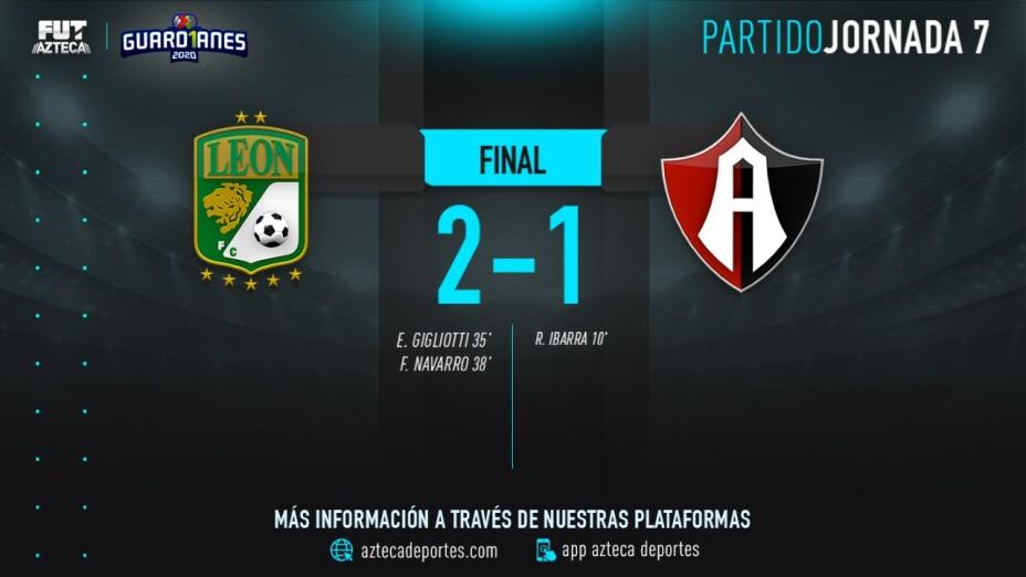 León vs Atlas final