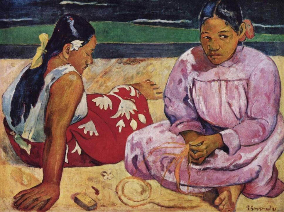 obras de paul gauguin mujeres tahitiana