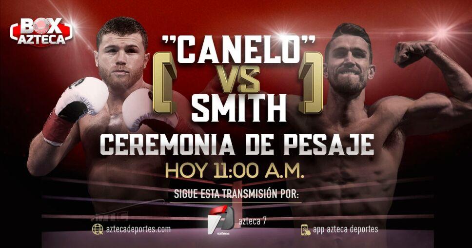 Ceremonia de Pesaje |Saúl 'Canelo' Álvarez vs Callum Smith