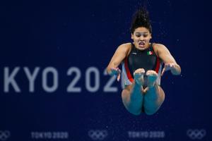 Aranza Vazquez final trampolin 3 metros Tokio 2020