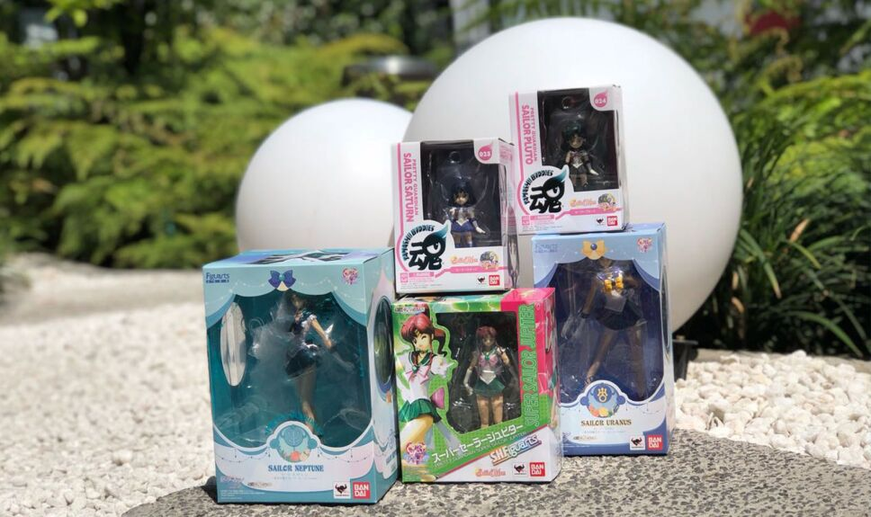Sailor Moon figuras coleccionables