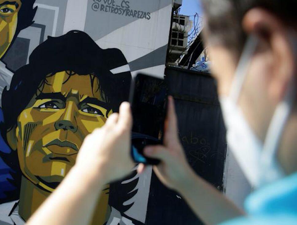 Diego Armando Maradona filtran fotos