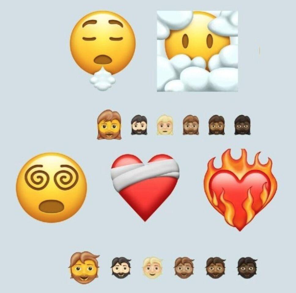 Los nuevos emojis para 2021