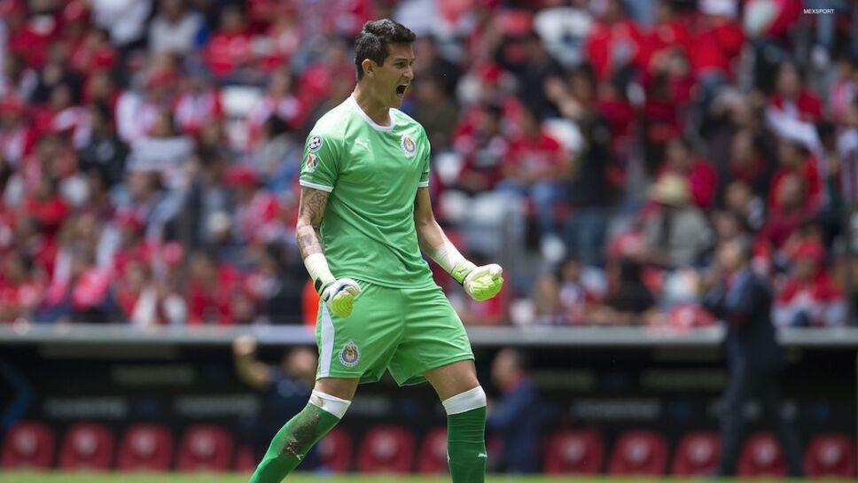 Portero de la selección mexicana, Raúl Gudiño