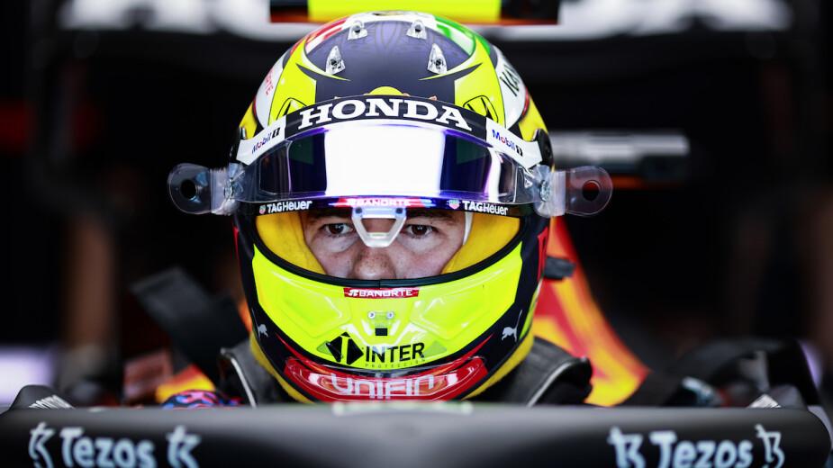 Checo Pérez saldrá en la sexta posición al Gran Premio de Azerbaiyán.