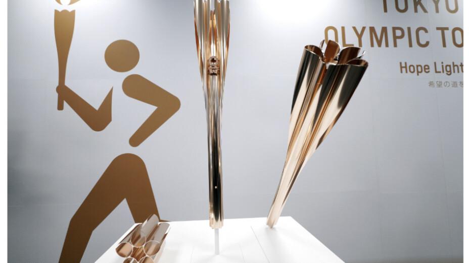 Presentan antorcha olímpica de los Juegos Olímpicos de Tokio 2020/ Foto: Especial