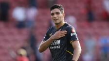 Raul Jimenez con su primer gol.jpg