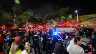 Incendio en el Mercado Morelos
