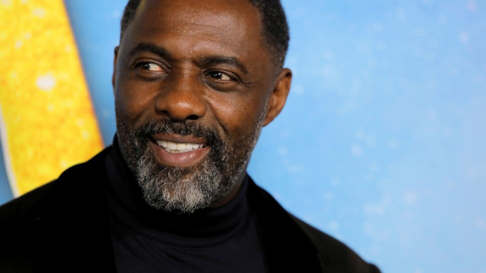 """FILE PHOTO: Actor Idris Elba arrives for the world premiere of the movie """"Cats"""" in Manhattan, New York"""