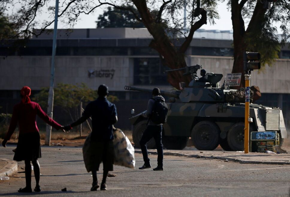 Protestas elecciones Zimbabue2