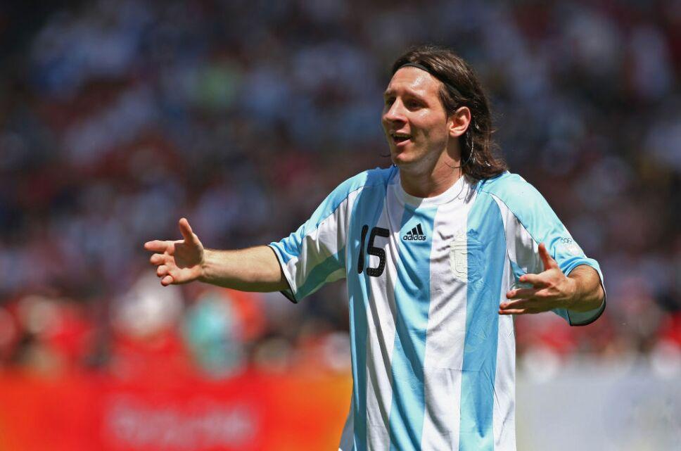 Messi en Beijing 2008