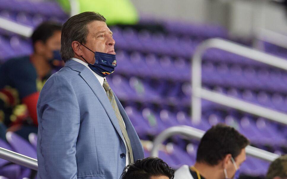 Miguel Herrera entrenador de Tigres