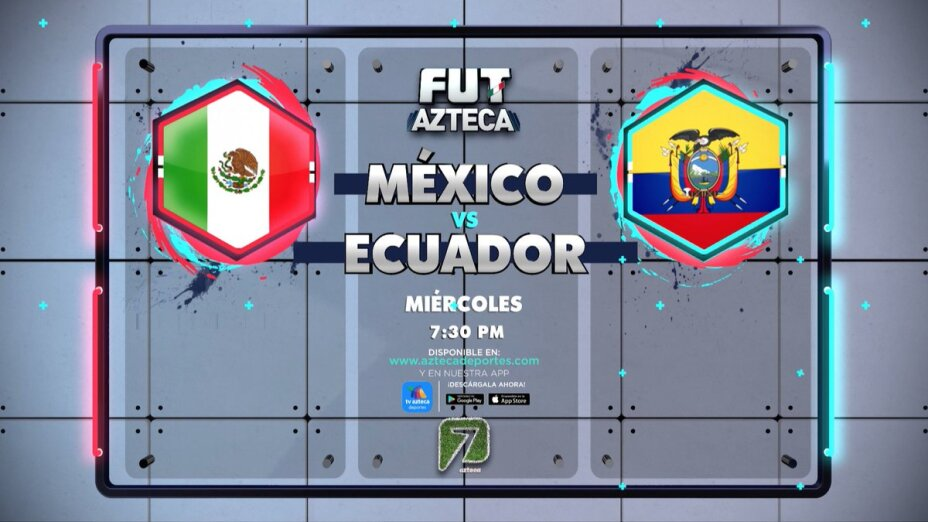 ¡Este miércoles 27 de octubre no te pierdas México vs Ecuador!