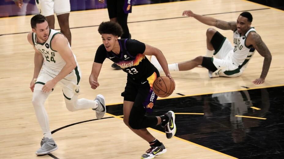 Cameron Johnson, jugador de los Phoenix Suns