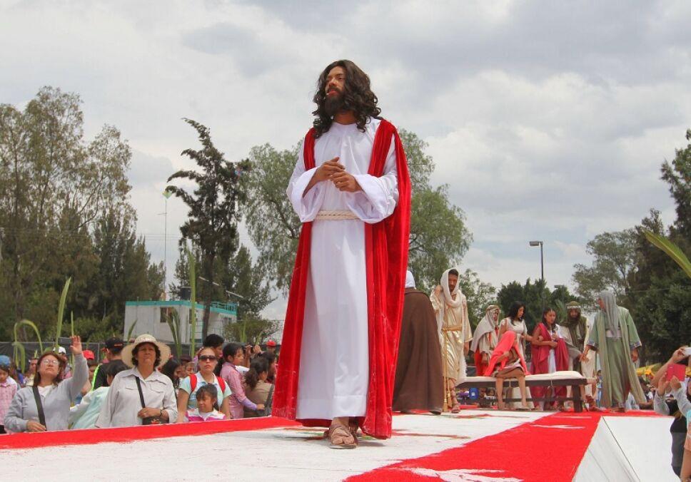 INICIAN FESTIVIDADES DE SEMANA SANTA EN IZTAPALAPA
