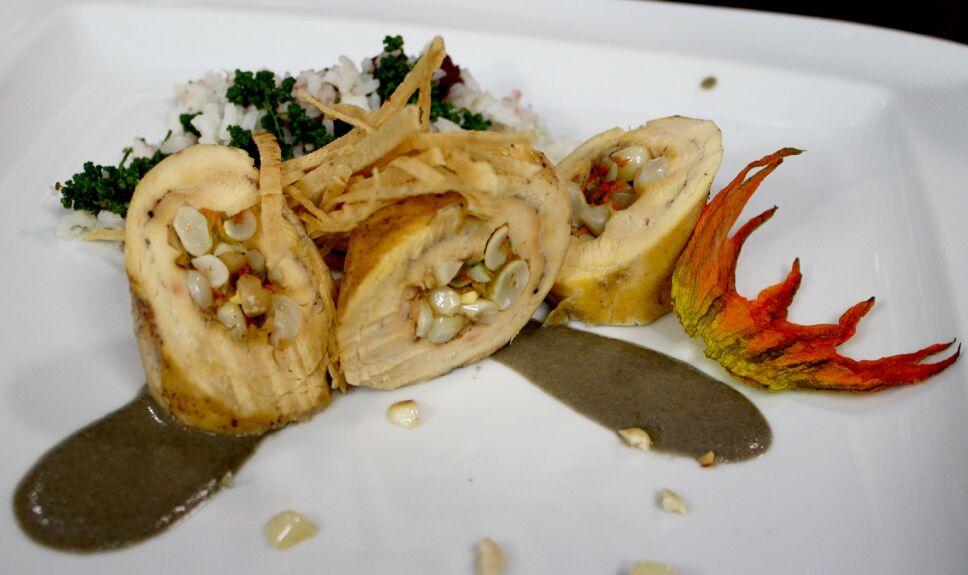 Pollo cacahuazintle
