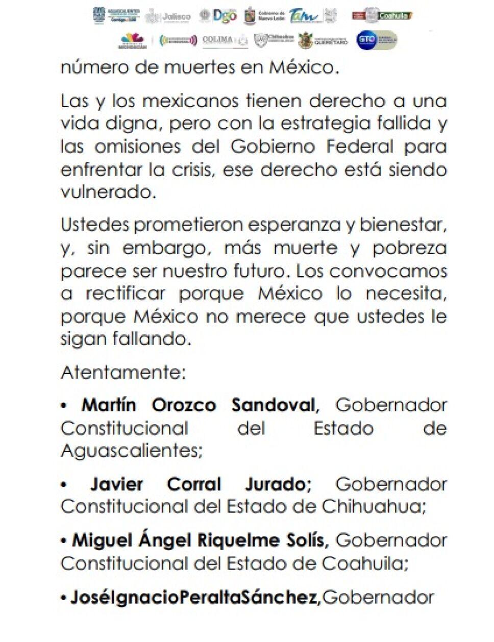 Exigen gobernadores renuncia inmediata de López-Gatell (5)