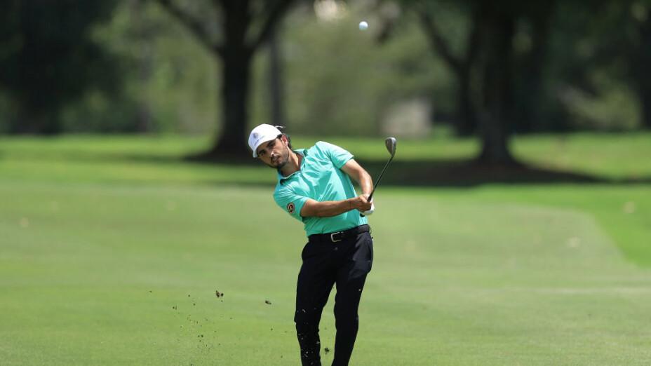 Abraham Ancer y Carlos Ortiz en torneo del PGA TOUR